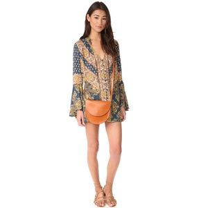 Free People | Magic Mystery Tunic Dress in Navy